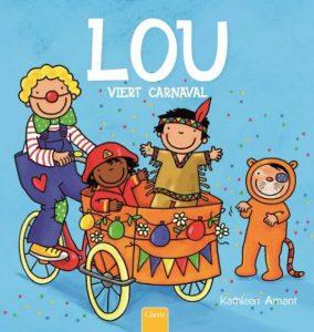 prentenboek lou viert carnaval amant
