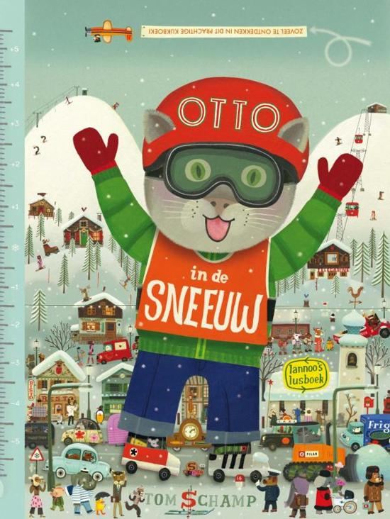 Otto in de sneeuw