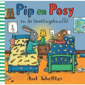 prentenboek pip en posy en de lievelingsknuffel scheffler