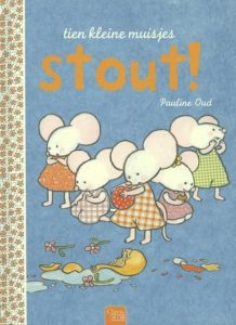 prentenboek tien kleine muisjes stout oud