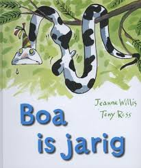 prentenboek boa is jarig willis ross