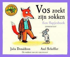 prentenboek vos zoekt zijn sokken donaldson scheffler