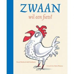 prentenboek zwaan wil een fiets barbot posthuma