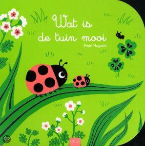 kartonboek wat is de tuin mooi hayashi