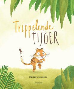 prentenboek trippelende tijger leathers