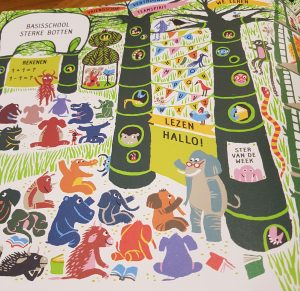 prentenboek zoek je mee plantenstad manolessou