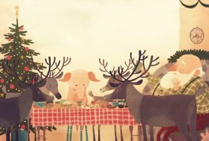 prentenboek boelies kerstplan stein groenink