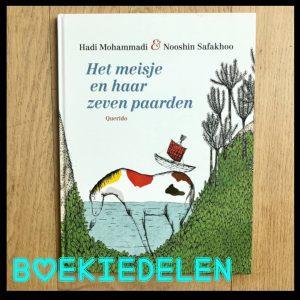 prentenboek het meisje en haar zeven paarden