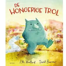 prentenboek hongerige trol Woollard Barrow