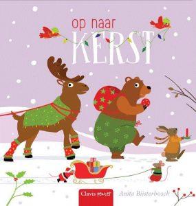 prentenboek op naar kerst