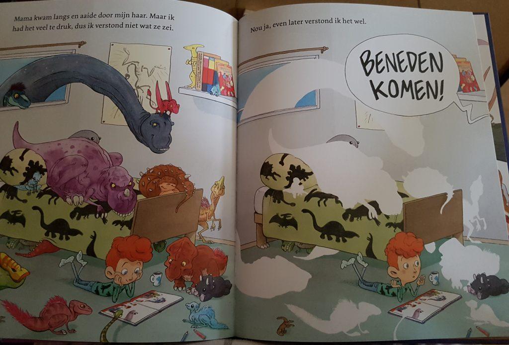 prentenboek ik ben bij de dinosaurussen geweest vendel goede