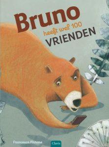 prentenboek bruno heeft wel 100 vrienden Pirrone