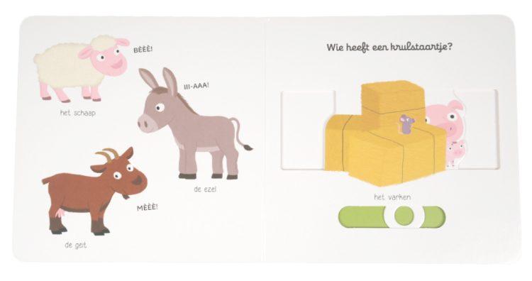 babyboekje Choux schuifboekje boerderij