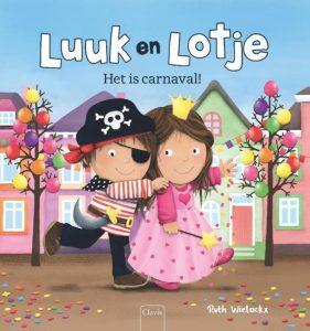 prentenboek luuk en lotje het is carnaval wielockx