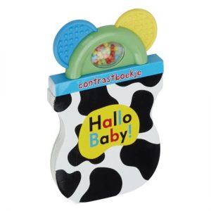 babyboekje hallo baby contrastboekje