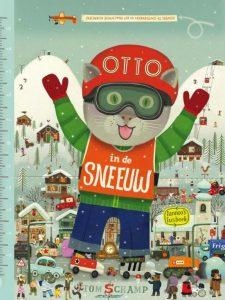 prentenboek otto in de sneeuw schamp