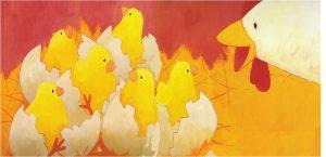 prentenboek dotties eieren sykes chapman