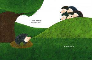 prentenboek het ei van egel takahashi