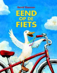 prentenboek eend op de fiets shannon