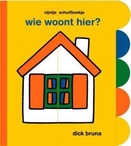 babyboekje wie woont hier bruna