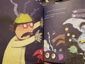 prentenboek de nachtmerries van loes gouden boekje riphagen