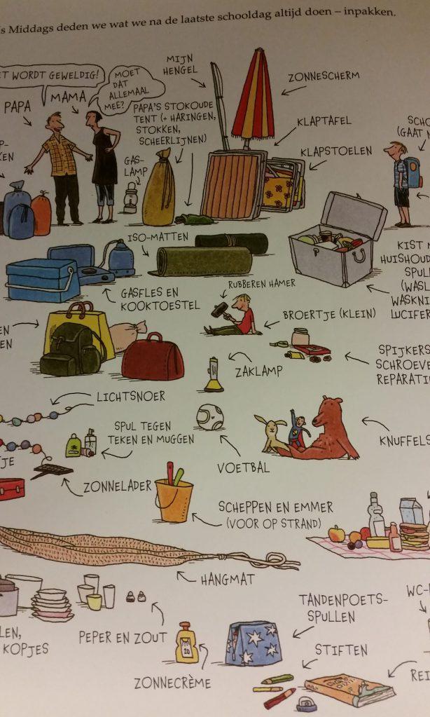 prentenboek kamperen waechter