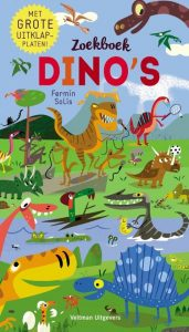 prentenboek Zoekboek Dino's Fermín Solís