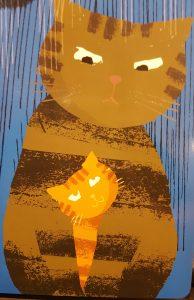 prentenboek de knorrige kat teckentrup