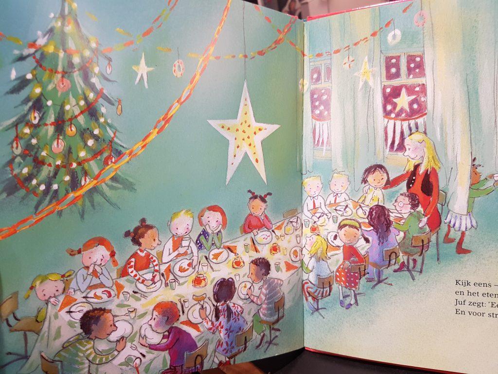 prentenboek kerstfeest in de klas kuiper hoogstad