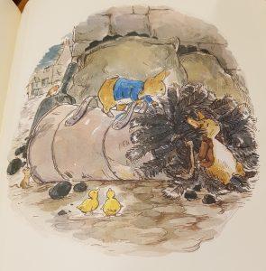prentenboek het kerstverhaal van pieter konijn thompson potter
