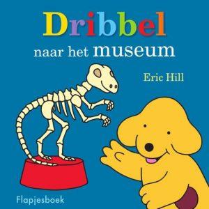 prentenboek dribbel gaat naar het museum hill