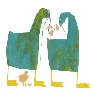 prentenboek de kale boom wolf bos