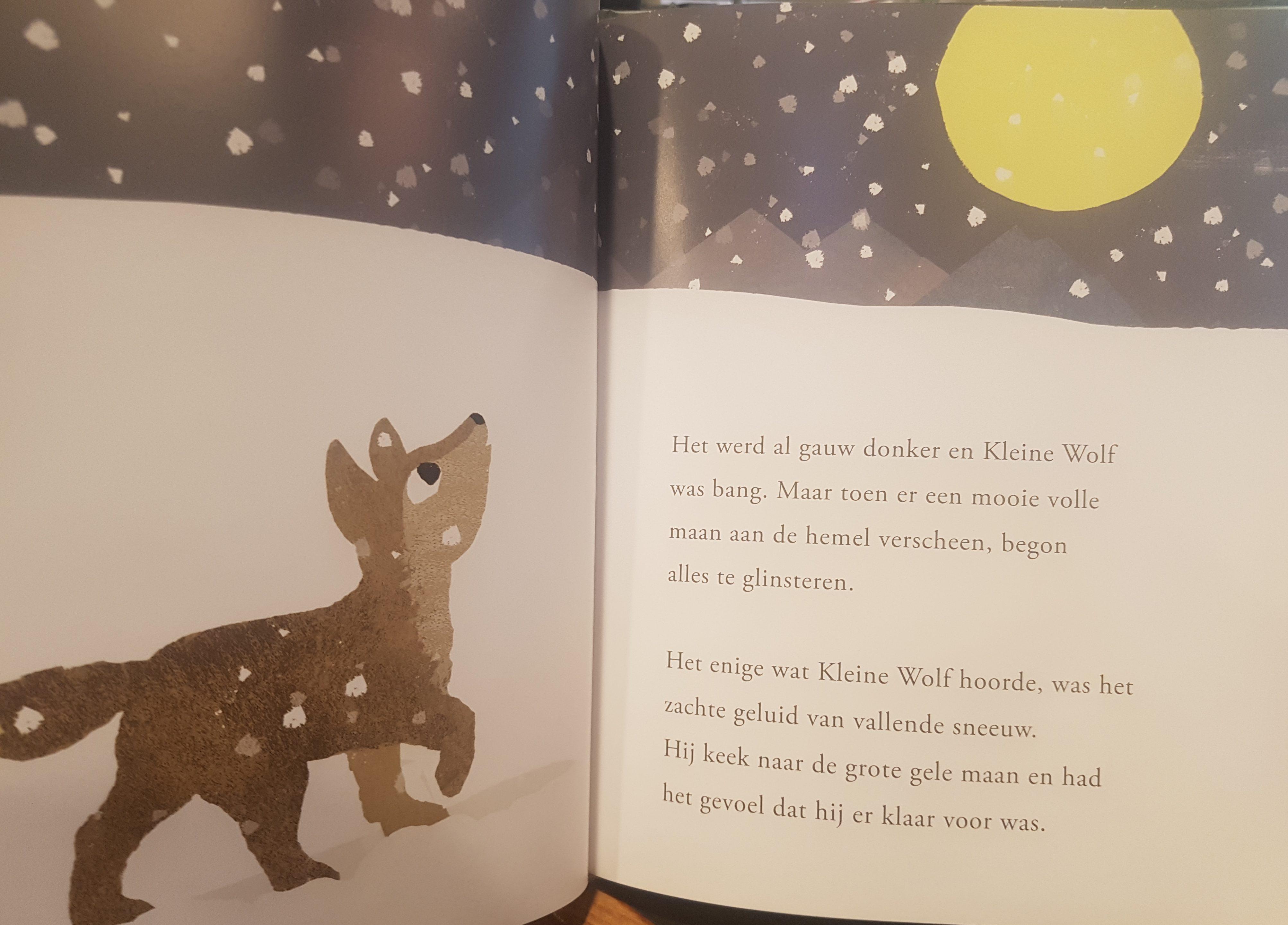 prentenboek het geluid van kleine wolf teckentrup