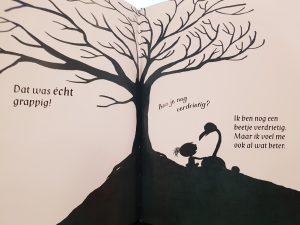 prentenboek verdrietig black ridpath ohi