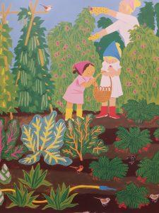 prentenboek in de tuin smit