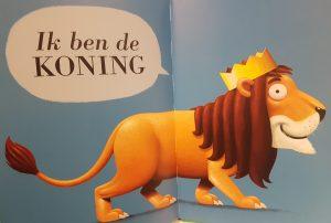 prentenboek ik ben de koning timmers