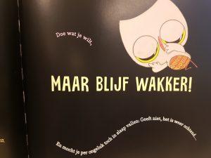 prentenboek Wakker blijven! Krouse-Rosenthal Roberts,