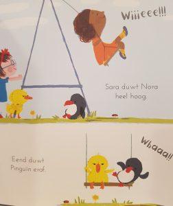 prentenboek Eend en Pinguïn zijn geen vrienden woolf