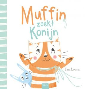 prentenboek muffin zoekt konijn loman