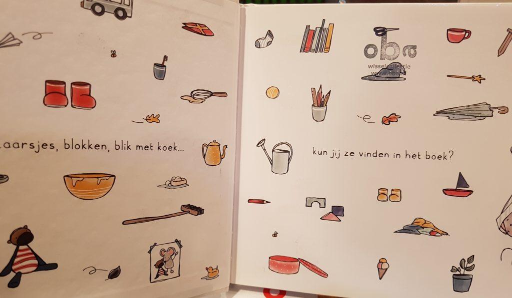 prentenboek thuis bij muis baartmans