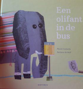 prentenboek een olifant in de bus huiberts de wolf