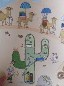 prentenboek op vakantie met de familie muis dubuc