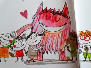 prentenboek het kleurenmonster gaat naar school anna llenas