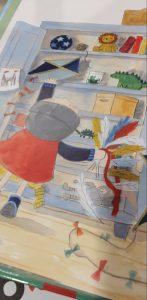 prentenboek ridder tim wil vliegen koppens lindenhuizen