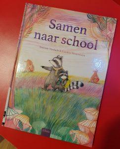 prentenboek samen naar school vandaele westermann