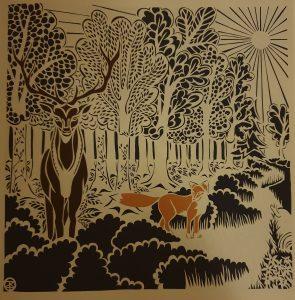 prentenboek kleine vos op zoek naar overal en nergens zevenbergen groen