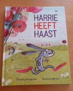 prentenboek Harrie heeft haast - Timothy Knapman en Gemma Merino