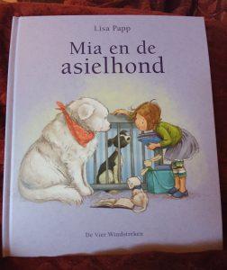 prentenboek mia en de asielhond Papp