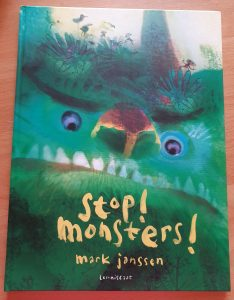 prentenboek Stop! Monsters! Mark Janssen