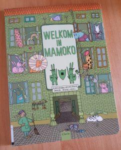 prentenboek Welkom in Mamoko Aleksandra Mizielińska Daniel Mizieliński